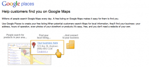 google places listing