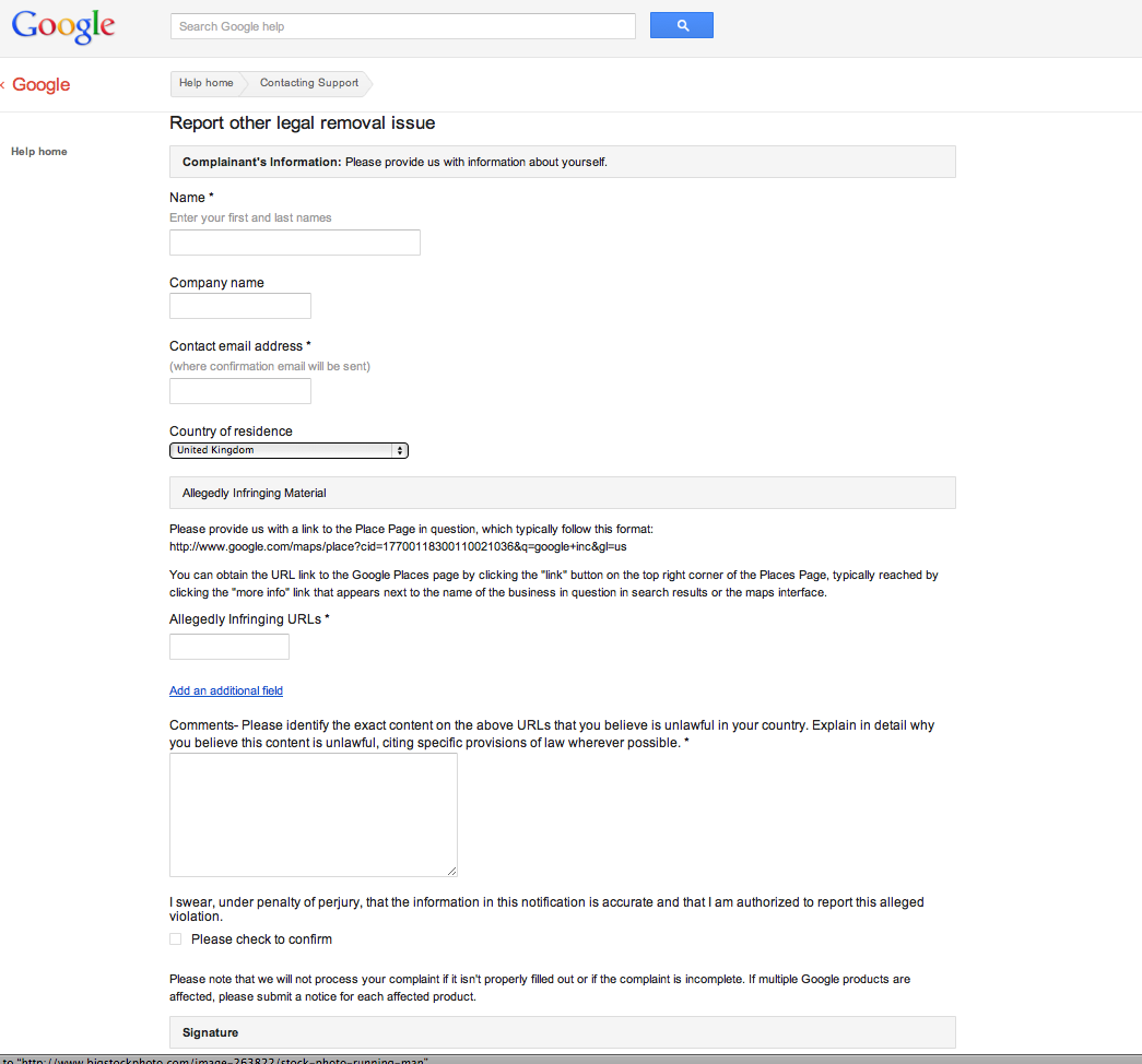 reporting google places review | SEO21